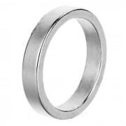Truco de magia Prop magnetica del anillo - plata (S)