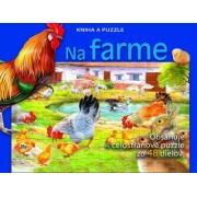 Na farme - Kniha a puzzle()