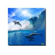 Tablou Canvas Delfini Jucausi