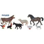 Miniland 27423 - Contenitore% 22% 22 Farm 8 caratteri