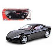 Maserati Gran Turismo Black 1/18 Car Model by Motormax