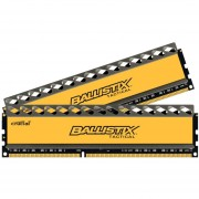 Crucial Ballistix Tactical - Memory - 8 GB : 2 X 4 GB - DIMM 240-pin - DDR3 - 1600 MHz / PC3-12800 - CL8 - 1.5 V - Unbuffered - Non-ECC