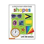 Start To Learn Shapes Sticker Book