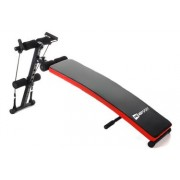 Hop-Sport Sit up Bank HS-1014 mit Expander Trainingsbank Bauchtrainer
