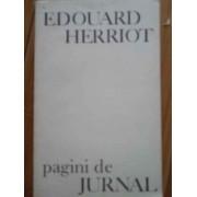 Pagini De Jurnal - Edouard Herriot