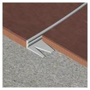 EFA225 - Bagheta flexibila din aluminiu natural 22,5 mm