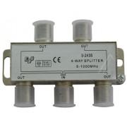 Antenna elosztó 4-UTAS CATV SPLITTER 5-1000MHZ ew01824