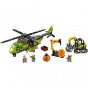 LEGO® City Elicopter de aprovizionare la vulcan 60123