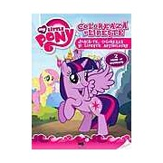 Carte de activitati My Little Pony - Coloreaza si lipeste