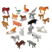 Block Play Animal Collection For Kids- Farm Animals