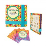 Geometric Origami Kit: Includes 75 Sheets of Origami Paper and Instructions for 10 Eye-Popping Folds