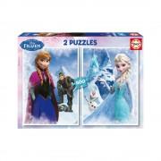 Educa Disney Jégvarázs puzzle, 2x500 darabos