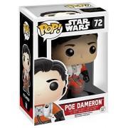 Funko Pop! Star Wars #72 No Helmet Poe Dameron (Exclusive)