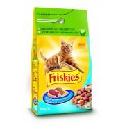 Friskies Adult Cat Iepure Ficat si Crutoane - 100g