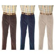 Stretchcord Hose mit Dehnbund für mehr Komfort, Farbe braun, Gr. 27
