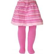 Strumpbyxor med kjol, Randig Rosa och Blå - Grön 56-62