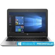 "Laptop HP ProBook 430 G4 (Procesor Intel® Core™ i5-7200U (3M Cache, up to 3.10 GHz), Kaby Lake, 13.3""FHD, 8GB, 256GB SSD, Intel® HD Graphics 620, Wireless AC, FPR, Win10 Pro 64, Argintiu) + Jucarie Fidget Spinner OEM, plastic (Albastru)"