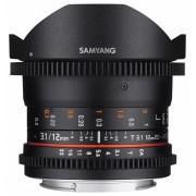 Samyang 12mm T3.1 VDSLR ED AS NCS Fish-eye (Fuji X)