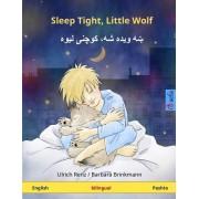 Sleep Tight, Little Wolf. Bilingual Children's Book (English - Pashto)