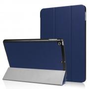 Donkerblauwe Tri-Fold hoes voor iPad (2017) Smartcase