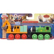 Thomas & Friends Wooden Railway Oliver y Oliver Motor (Pack de 2)