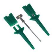 Chwytak testowy - pomiarowy (zielony) - 5 szt