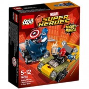 LEGO Super Heroes Mighty Micros Capitán América vs Red Skull 76065 5+