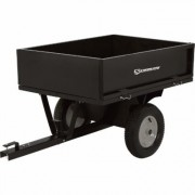 Strongway Steel ATV Trailer - 500-Lb. Capacity, 10 Cu. Ft.