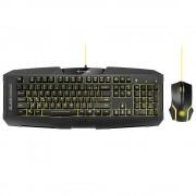 Sharkoon Shark Zone GK15 геймърски комплект мишка и клавиатура с LED подсветка