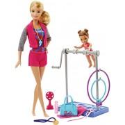 Barbie Gymnastic Coach Dolls & Playset By Barbie