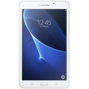 "Tableta Samsung Galaxy Tab A T285, Procesor Quad-Core 1.3GHz, IPS LCD Capacitive touchscreen 7"", 1.5GB RAM, 8GB Flash, 5 MP, Wi-Fi, 4G, Android (Alb) + Cartela SIM Orange PrePay, 5 euro credit, 8 GB internet 4G"