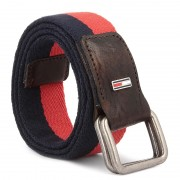 Curea pentru Bărbați TOMMY HILFIGER - DENIM Thd Stripe Webbing Belt 4 AM0AM02121 90 901