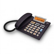 Siemens Gigaset Euroset 5040 Teléfono fijo digital (pantalla LCD, control de volumen, identificador de llamadas), negro