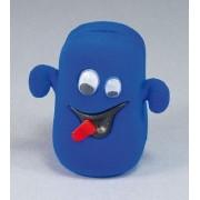 Sametova krabicka na sperky - modry duch