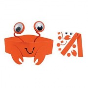 Crab Headband Craft Kit - Crafts for Kids & Hats & Masks