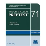 The Official LSAT Preptest 71 by Law School Admission Council