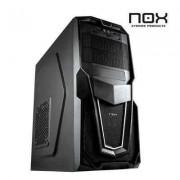 NOX Caja Semitorre Raven Negra USB30 Lector SD