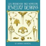 305 Authentic Art Nouveau Jewelry Designs