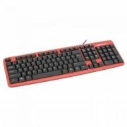Tastatura Cu Fir Omega OK-11 USB Rosu