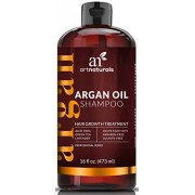 Art Naturals Organic Argan Oil Hair Loss Shampoo for Hair Regrowth 16 Oz - Sulfate Free - Best Treatment for Hair Loss, Thinning & - Growth Product For Men & Women - Infused with Biotin - 2016