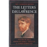The Letters of D. H. Lawrence by D. H. Lawrence