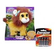 Fur Real Friends Roarin My Bouncin Lion With Energizer Batteries Bundle