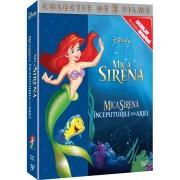 Disney - Mica sirena & Mica sirena: Inceputurile lui Ariel (2DVD)