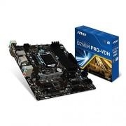 MSI B250M PRO-VDH Carte mère Intel Socket LGA 1151