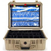 Pelican 1500 EMS Case (Desert Tan)