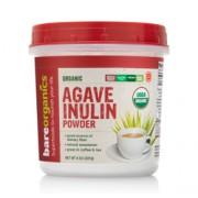 BareOrganics AGAVE INULIN POWDER (Raw-Organic) (8oz) 227g