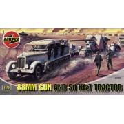 Airfix - 88MM Gun & Tractor, set de modelismo (Hornby A02303)