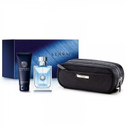 Versace pour homme confezione EdT 100 ml + bagnoschiuma + beauty