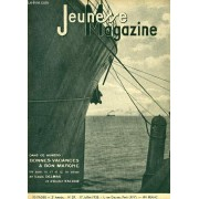 Jeunesse Magazine N°29, 2ème Année : Bonnes Vacances À Bon Marché