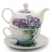Set tea for one Liliac